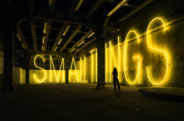 Small things by Martin Creed, 2007
